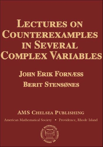 9780821844229: Lectures on Counterexamples in Several Complex Variables (AMS Chelsea Publishing)