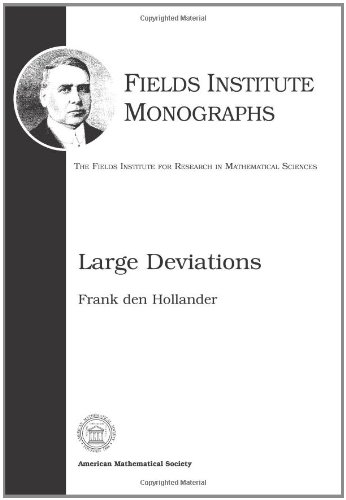 9780821844359: Large Deviations (Fields Institute Monographs)