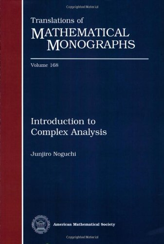 9780821844472: Introduction to Complex Analysis (Translations of Mathematical Monographs)
