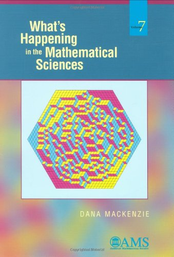 9780821844786: What's Happening in the Mathematical Sciences