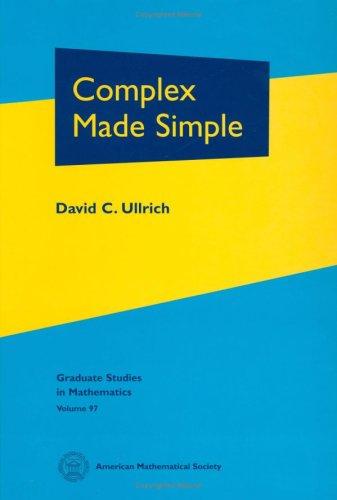 9780821844793: Complex Made Simple (Graduate Studies in Mathematics)