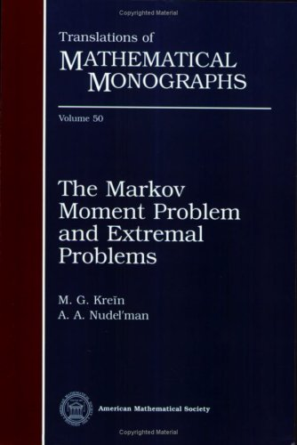 9780821845004: The Markov Moment Problem and Extremal Problems (Translations of Mathematical Monographs, Vol. 50)