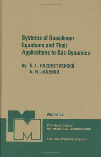 9780821845097: Systems of Quasilinear Equations and Their Applications to Gas Dynamics (Translations of Mathematical Monographs)
