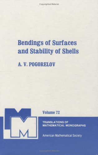 9780821845257: Bendings of Surfaces and Stability of Shells (Translations of Mathematical Monographs) (English and Russian Edition)