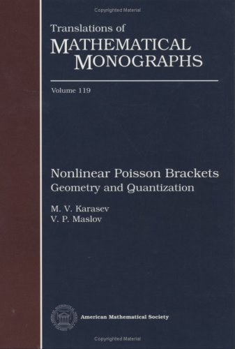 9780821845967: Nonlinear Poisson Brackets. Geometry and Quantization (Translations of Mathematical Monographs)