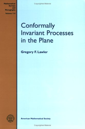 9780821846247: Conformally Invariant Processes in the Plane (Mathematical Surveys and Monographs)