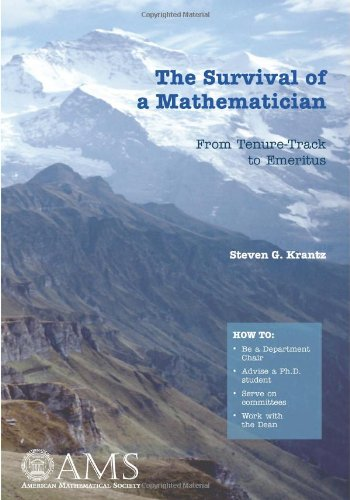 9780821846292: The Survival of a Mathematician: From Tenure-Track to Emeritus