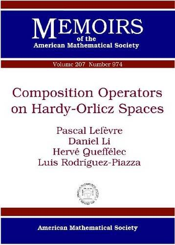 Composition Operators on Hardy-Orlicz Spaces (Memoirs of: Pascal Lefevre, Daniel