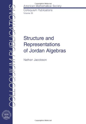 9780821846407: Structure and Representations of Jordan Algebras (American Mathematical Society Colloquium Publications)