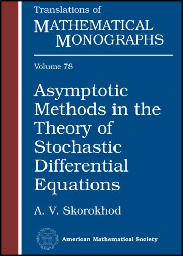 9780821846865: 78: Asymptotic Methods in the Theory of Stochastic Differential Equations (Translations of Mathematical Monographs)