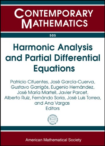 9780821847701: Harmonic Analysis and Partial Differential Equations: 8th International Conference on Harmonic Analysis and Partial Differential Equations June 16-20, ... Madrid, Spain (Contemporary Mathematics)
