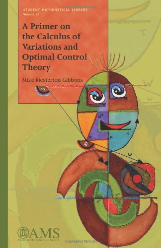 9780821847725: A Primer on the Calculus of Variations and Optimal Control Theory (Student Mathematical Library)