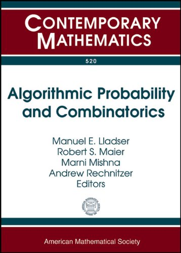 Algorithmic Probability and Combinatorics: Ams Special Sessions: Amer Mathematical Society