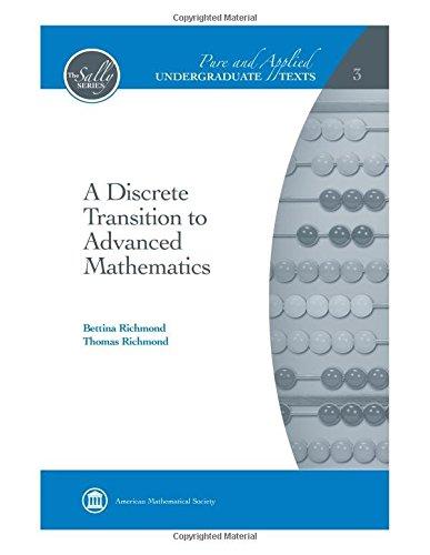9780821847893: A Discrete Transition to Advanced Mathematics