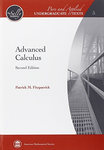 9780821847916: Advanced Calculus (Pure and Applied Undergraduate Texts: the Sally Series)