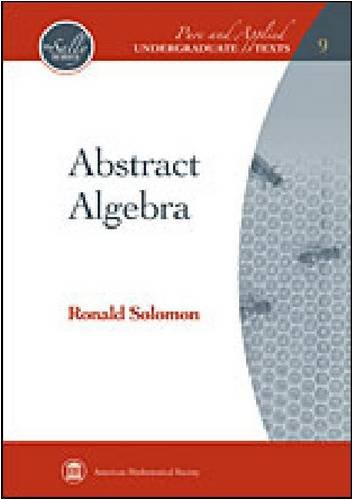 9780821847954: Abstract Algebra (Pure and Applied Undergraduate Texts)