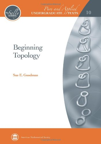 9780821847961: Beginning Topology (Pure and Applied Undergraduate Texts)