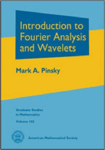 9780821847978: Introduction to Fourier Analysis and Wavelets (Graduate Studies in Mathematics)