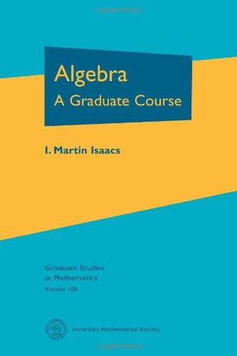 9780821847992: Algebra (Graduate Studies in Mathematics)