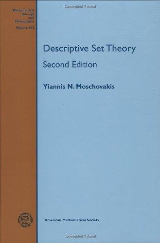 9780821848135: Descriptive Set Theory (Mathematical Surveys and Monographs)