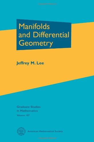 9780821848159: Manifolds and Differential Geometry