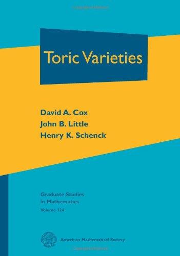 9780821848197: Toric Varieties (Graduate Studies in Mathematics)