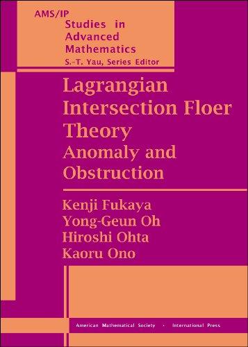 9780821848319: Lagrangian Intersection Floer Theory (Set) (AMS/IP Studies in Advanced Mathematics)
