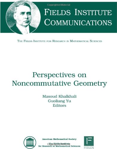 9780821848494: Perspectives on Noncommutative Geometry (Fields Institute Communications)