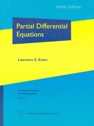 9780821848593: Partial Differential Equations