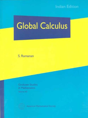 Global Calculus (Indian Editions of AMS Titles): S Ramanan