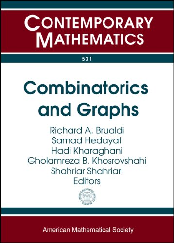 9780821848654: Combinatorics and Graphs (Contemporary Mathematics)