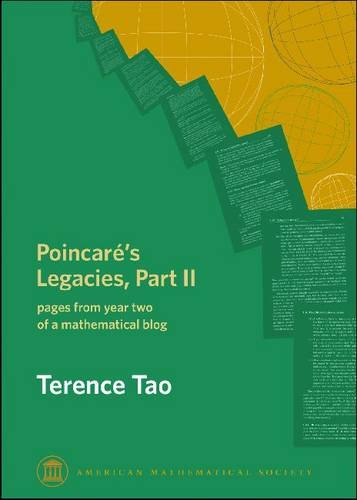 9780821848852: Poincare's Legacies: Pages from Year Two of a Mathematical Blog