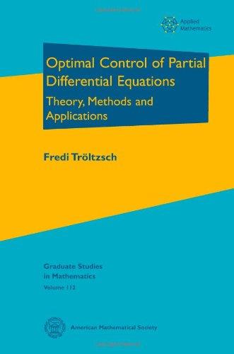 9780821849040: Optimal Control of Partial Differential Equations (Graduate Studies in Mathematics)