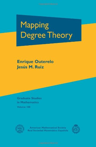 9780821849156: Mapping Degree Theory