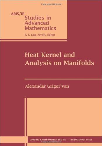 9780821849354: Heat Kernel and Analysis on Manifolds (Ams/Ip Studies in Advanced Mathematics)