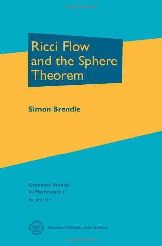 9780821849385: Ricci Flow and the Sphere Theorem (Graduate Studies in Mathematics)