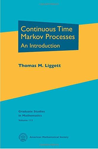 9780821849491: Continuous Time Markov Processes (Graduate Studies in Mathematics)