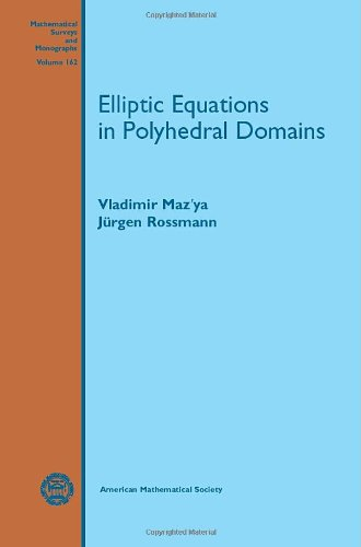 ISBN 9780821849835 product image for Elliptic Equations in Polyhedral Domains (Mathematical Surveys and Monographs) | upcitemdb.com