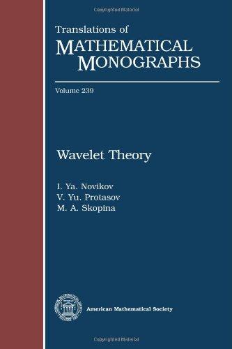 Wavelet Theory (Translations of Mathematical Monographs): I. Ya. Novikov;