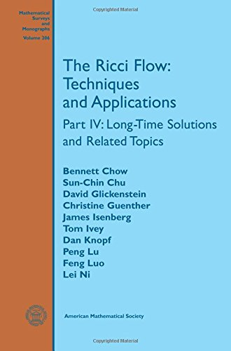 9780821849910: The Ricci Flow: Techniques and Applications: Long-time Solutions and Related Topics (Mathematical Surveys and Monographs)