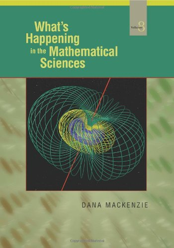 9780821849996: What's Happening in the Mathematical Sciences: 8