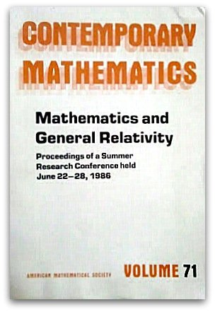 Mathematics and General Relativity: Proceedings