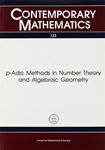 9780821851456: P-Adic Methods in Number Theory and Algebraic Geometry (Contemporary Mathematics)