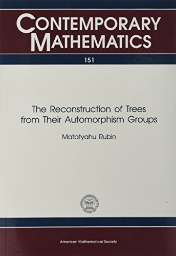9780821851876: The Reconstruction of Trees from Their Automorphism Groups (Contemporary Mathematics)