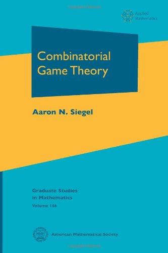 9780821851906: 146: Combinatorial Game Theory (Graduate Studies in Mathematics)