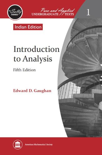 9780821852064: Introduction to Analysis