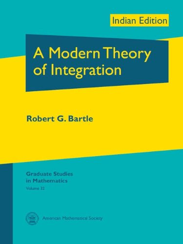 9780821852156: MODERN THEORY OF INTEGRATION