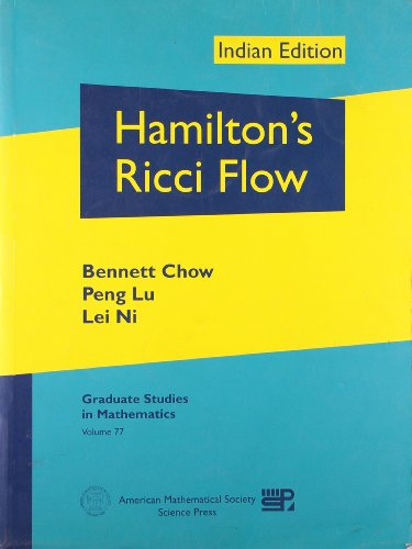 9780821852217: Hamilton's Ricci Flow