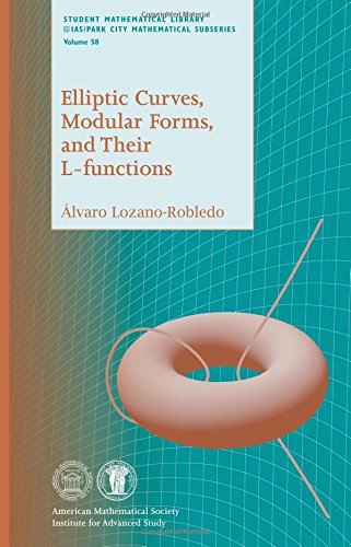 9780821852422: Elliptic Curves, Modular Forms, and Their L-Functions