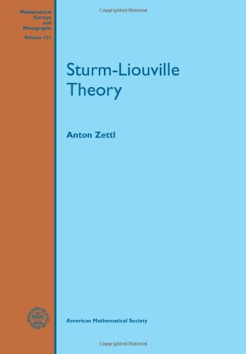 9780821852675: Sturm-Liouville Theory (Mathematical Surveys and Monographs)